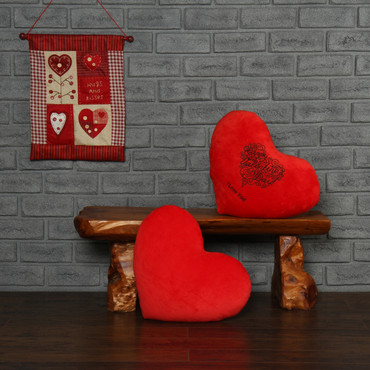 I Love You Red Pillow Heart