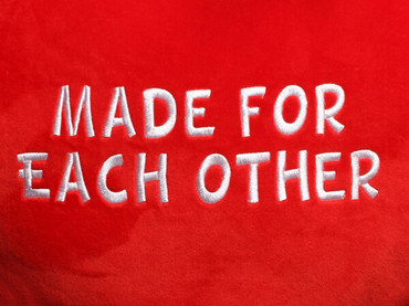 Made for Each Other Heart Design (Close Up)
