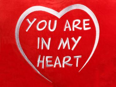 He Loves Me Heart Design (Close Up)