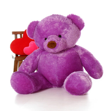 Huge 5ft (60in) Purple Bear Lila Chubs