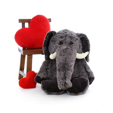 3 Foot Big Stuffed Elephant from Giant Teddy