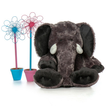 4ft Enormous Stuffed Elephant from Giant Teddy