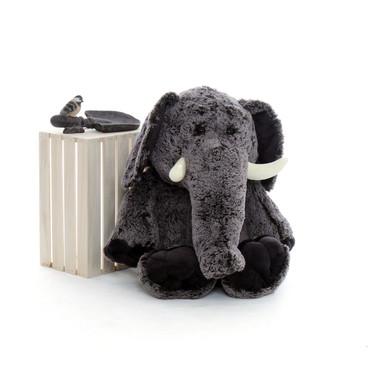 3 Foot Elephant Stuffed Animal - Valentine's Day Gift