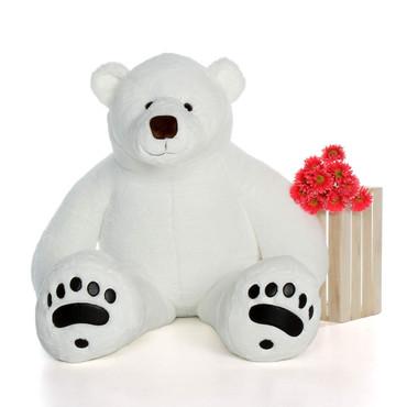 6 Foot Polar Bear Stuffed Animal