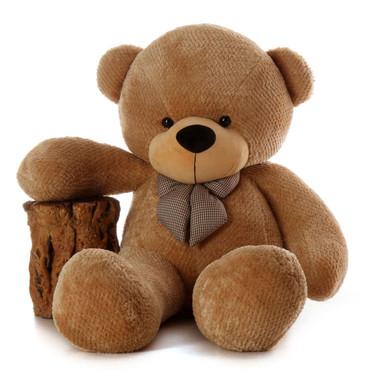 6ft Life Size Cutest and Huggable  Brown Teddy Bear Shaggy Cuddles