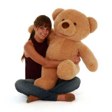 3ft Huge Amber Chubs Teddy Bear