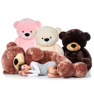 Biggest Giant Teddy Bear! 7 Foot Tall Cuddles