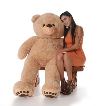 60 inch adorable big  Tan Teddy Bear Gift