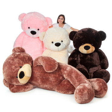 Giant 7 Foot Teddy Bears - The Biggest Bear Family
