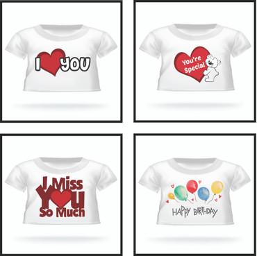 Giant Teddy Bear T-shirt Designs