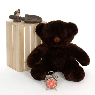 teddy bear brown awesome 2 ½ ft tall with oversized head, arms, legs and body