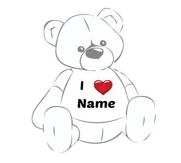 Giant Teddy Bear Valentine's T-shirt
