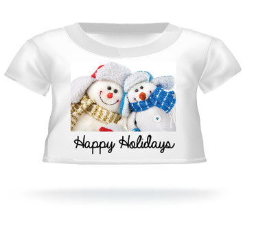 Happy Holidays Teddy Bear T-shirt