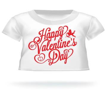 Giant Teddy Bear Happy Valentine's Day