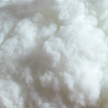 Close-up White Polyester Fiber