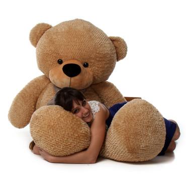 Amber Brown 6 Foot Teddy Bear