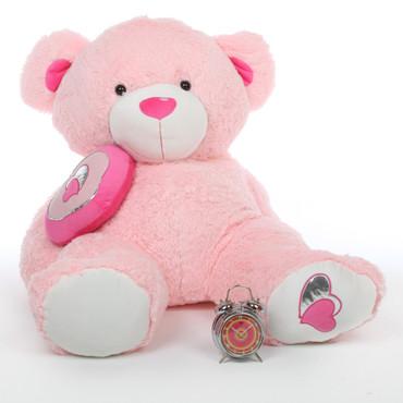 4ft Huge Pink Teddy Bear Cutie Pie Big Love