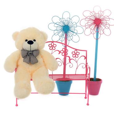 Giant Teddy Bear Vanilla 2 feet