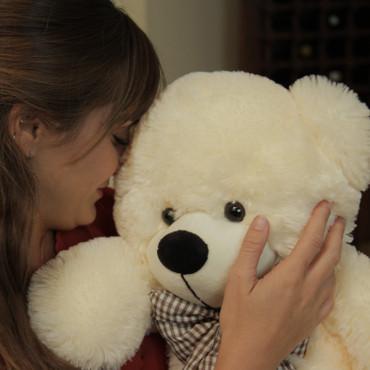24in cream Cuddles big Teddy Bear