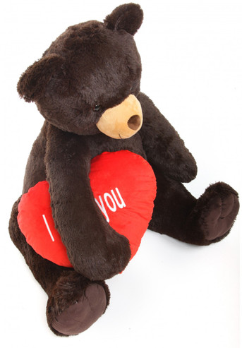 42in  Big  super soft plush Teddy Bear with I Love You Heart
