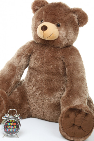 Sweetie Heart Tubs mocha brown teddy bear 42in
