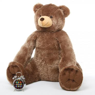 Huge Mocha Brown 42in Sweetie Tubs Teddy Bear