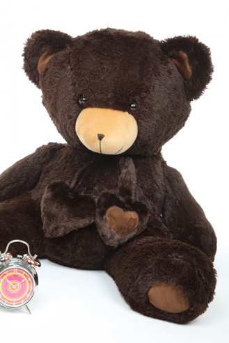 3ft Chocolate Big Papa Hugs Huggable Teddy Bear