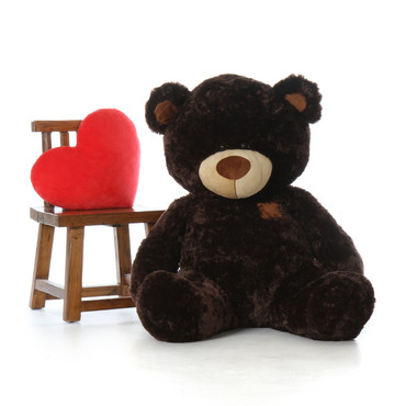 Premium Quality Giant Teddy Brand Huge Teddy Bear in Dark Brown Color