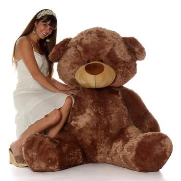 Giant Teddy Bear 6 Foot Sitting Position Floppy Head