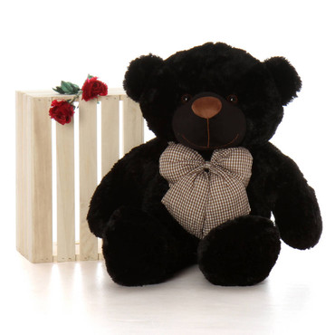 3ft Huge huggable Black Teddy Bear Juju Cuddles