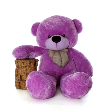 72in Purple Life Size Teddy DeeDee Cuddles Enormously Huge