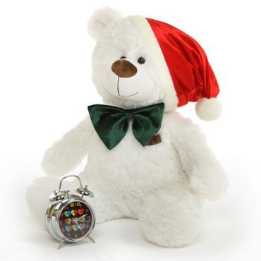 2 feet Big White Super Soft  Teddy Bear for Christmas