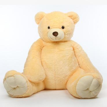 Tiny Tubs vanilla cream teddy bear 65in