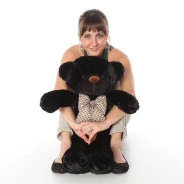 24 in adorable Black Teddy Bear