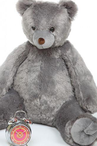 3ft Sugar Tubs Cuddly Grey Plush Teddy Bear