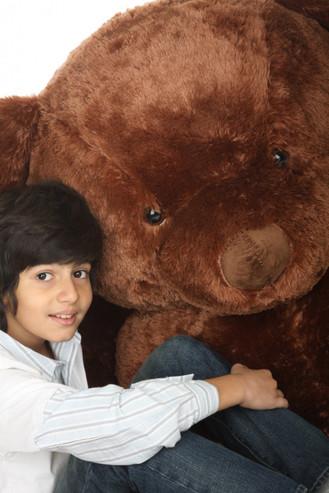 Rare Color Chestnut Brown Giant Teddy Bear