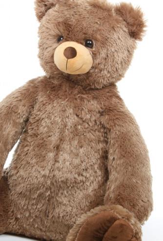 Oversized Mocha Brown Sweetie Tubs Teddy Bear 32in