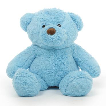 Huge Blue Teddy Bear Sammy Chubs 30in