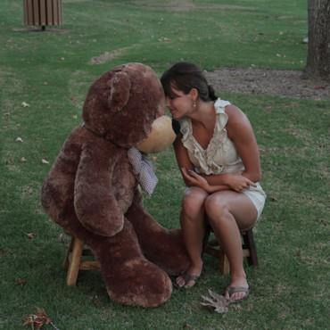 4 ft. Fluffy Light Brown Super Cute Teddy Bear Gift