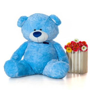 Marty Shags Jumbo Blue Cuddly Teddy Bear 60in