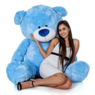 Super Soft Blue Giant Teddy Bear
