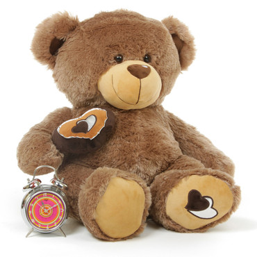 Big 3 Foot Brown Teddy Bear for Girlfriend