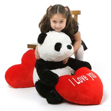 2 feet cute Huggable Panda Bear