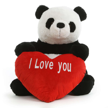 super soft Plush Panda 24 in