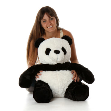 Adorable 24 Inch Sitting Panda Stuffed Animal