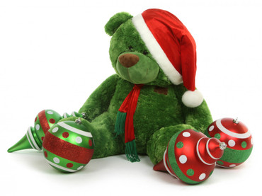 Green 30 in Christmas Teddy Bear Gift