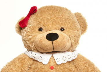 2 Foot Amber Brown Christmas Gingerbread Teddy Bear