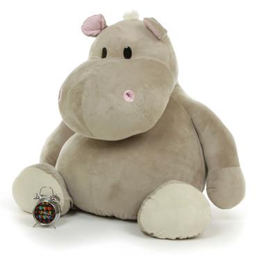 Giant Premium Quality Stuffed Hippo