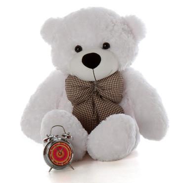 3ft Huge Cutest White Teddy Bear Coco Cuddles