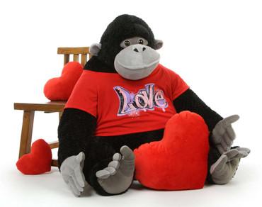 Adonis Cute Stuffed Gorilla